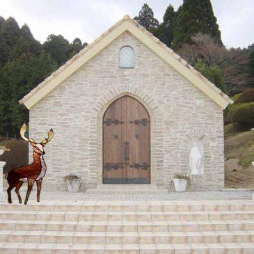 森のステンドグラス物語 第二十七話   誓い  教会