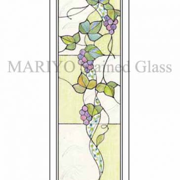 ステンドグラスデザイン 葡萄