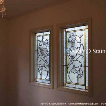 三井ホームの家ステンドグラス