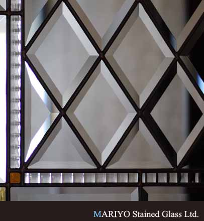 無色のステンドグラス AB56-24B