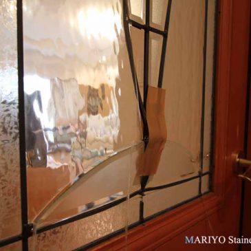 ステンドグラス修理 数年で壊れてしまった 海外の量産品 修復