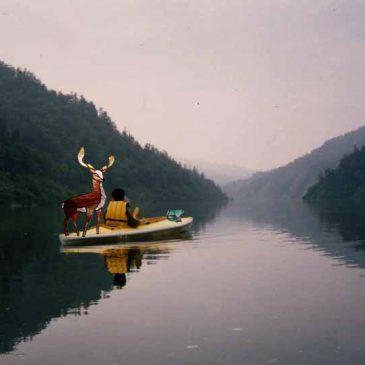 森のステンドグラス物語 第十九話    舟の旅