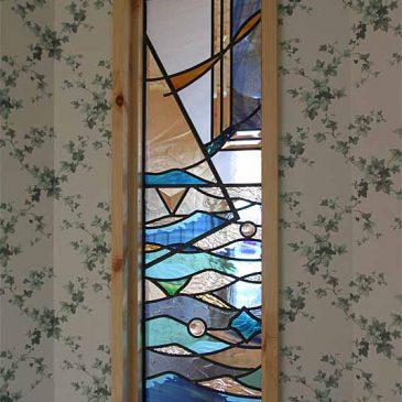 ステンドグラス 海 海の日のステンドグラス