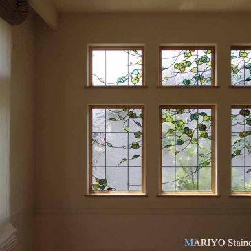 三井ホーム ステンド グラス 窓