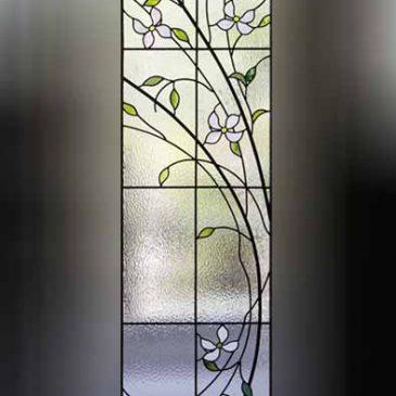 ステンドグラス ハナミズキ(花水木) 鹿児島市