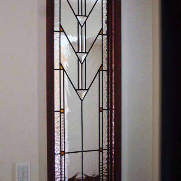 ステンドグラス デザイン フランクロイドライト