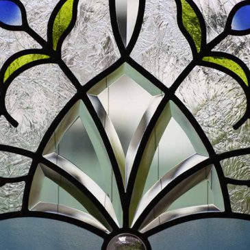 ステンドグラス作家作品 山手町の家 地中海の青 待ち受け画像