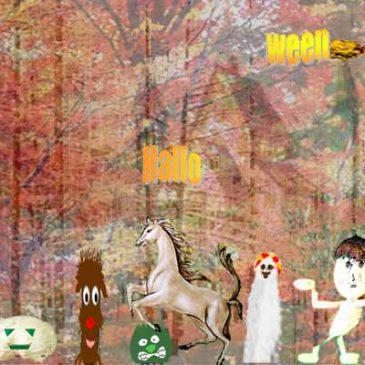 森のステンドグラス物語 第二十二話   魔女と精霊