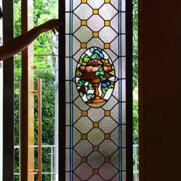 アンティーク ステンドグラス 修理 修復