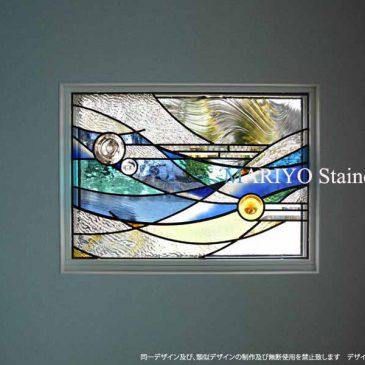 ステンドグラス ミサワホームの家    長野県