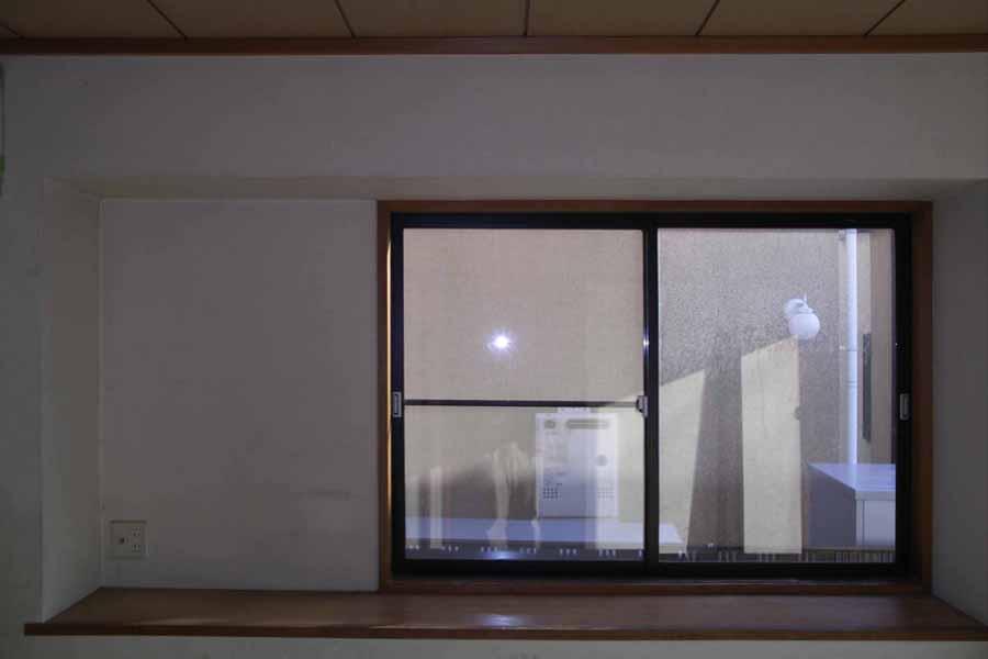 リフォーム前の引違窓