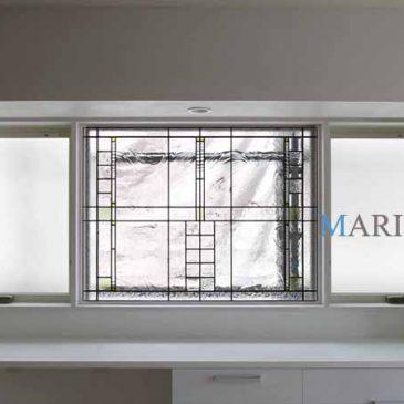 ステンドグラス窓 | リフォーム工事