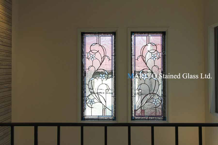 花のステンドグラス窓C103-3B4LP1J