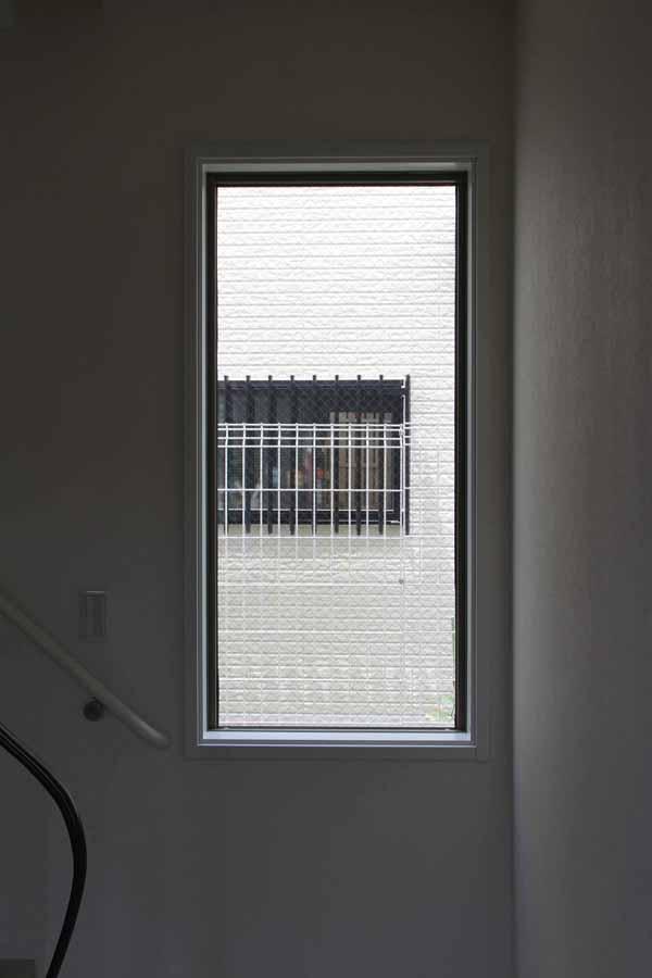 新築ステンドグラス設置前の画像