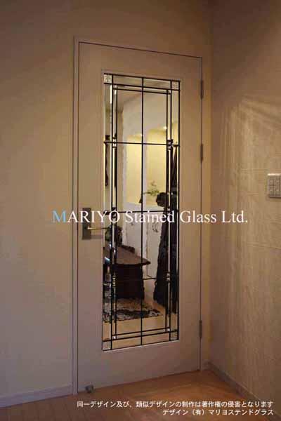 ステンドグラス 透明