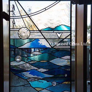 ステンドグラス デザイン 海