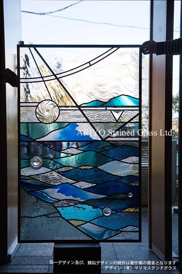 ステンドグラス デザイン 海工房画像