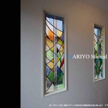 色彩の美しいステンドグラス