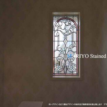 三井ホーム ステンドグラス窓