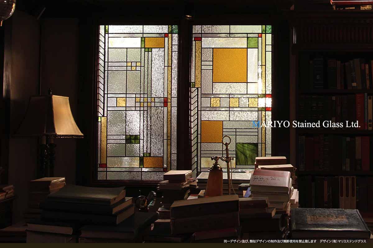 テレビドラマのステンドグラス