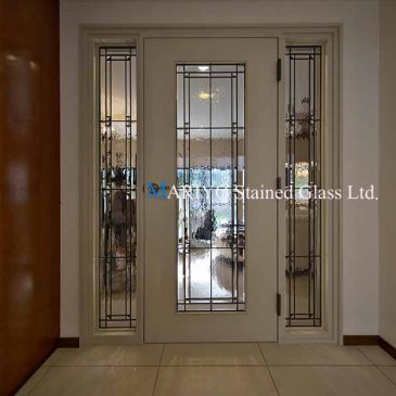 シンプル ステンドグラス ドア