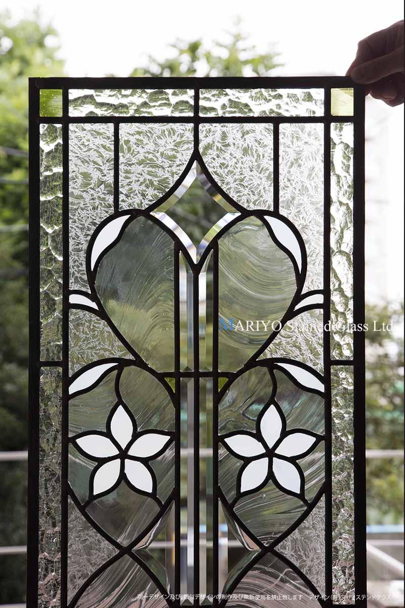 三井ホームのステンドグラス画像3 川崎市