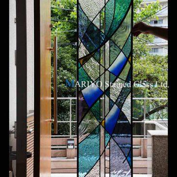 新潟県歯科病院のステンドグラス