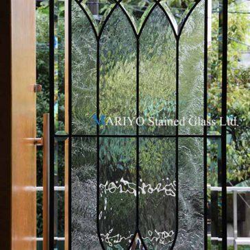 ドア用ステンドグラス|新築そっくりさん