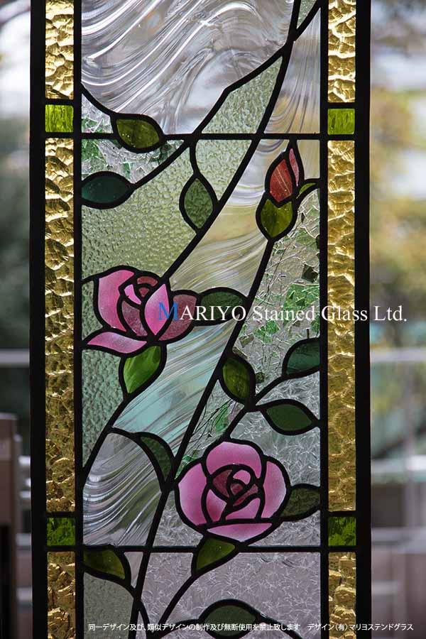 バラのステンドグラス工房画像