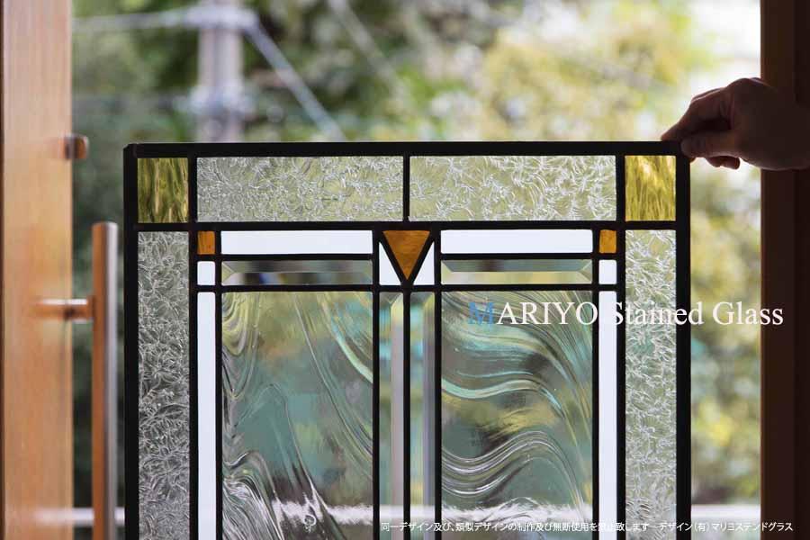 リメイク ステンドグラス 部分画像