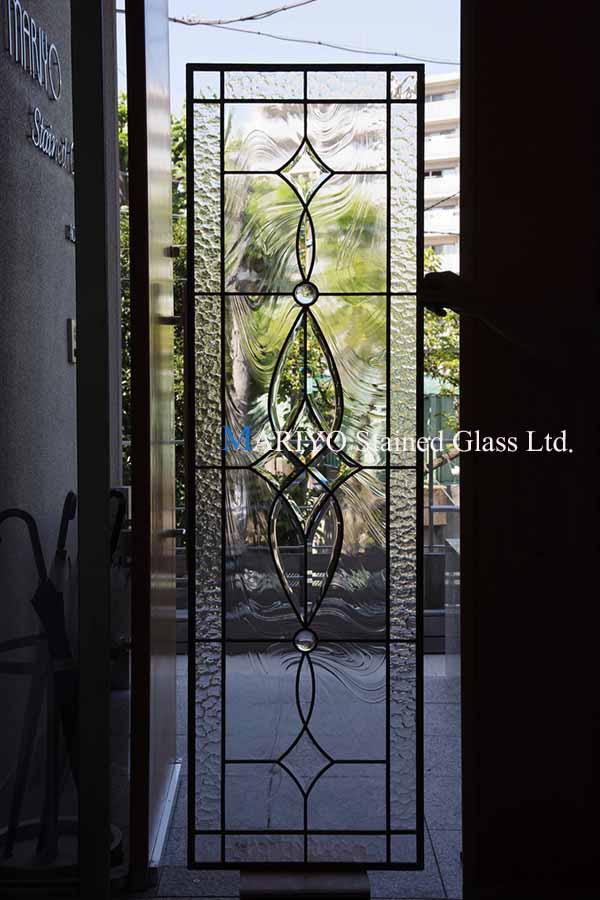 M邸(兵庫県)ステンドグラス 工房画像 B46-10B2LP2J