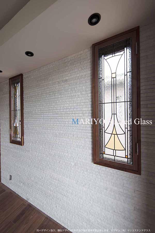 辷りだし窓 ステンドグラス B51-6LP