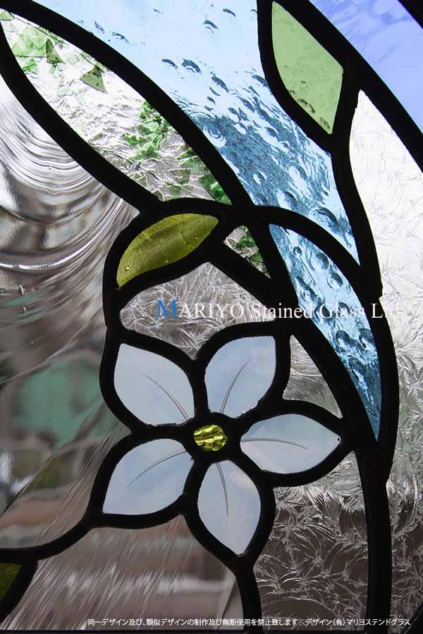 大泉 居久根の蔵丸窓部分画像