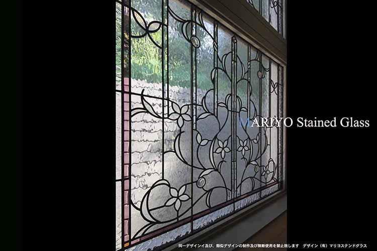 作家ブログ 成城の家ステンドグラス画像 2