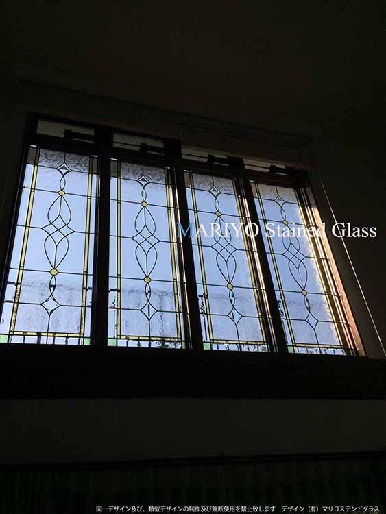 宮崎県ステングラス連窓施工例画像2