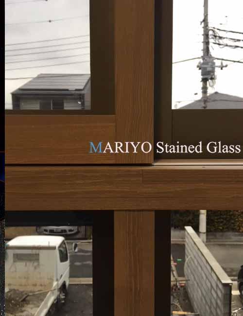 ステンドグラス 旭化成 枠