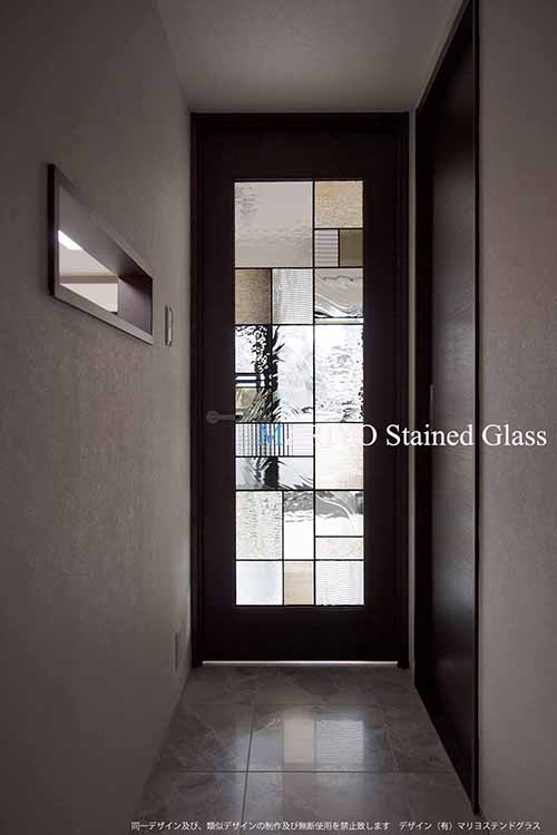 和風デザイン ドア AB24-3LP 神楽坂の家1