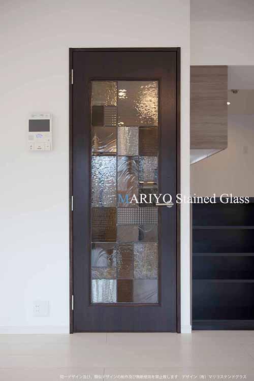 和風デザイン ドア AB24-3LP 神楽坂の家2