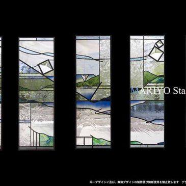 宮城県 ステンドグラス 5連
