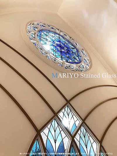 岡山ウエディングチャペル 丸窓 0841