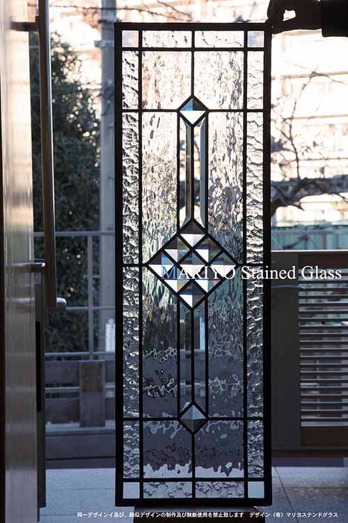 ステンドグラス AB39-4LP11X S邸(川崎市)工房