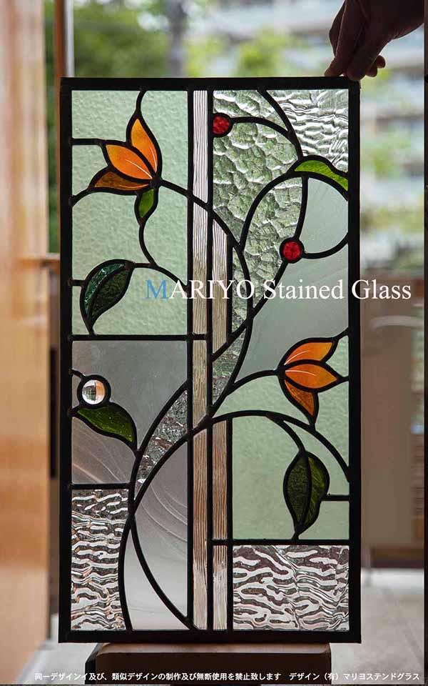 小さい花のステンドグラス トイレ工房 C52-5LP1J4E ブログ