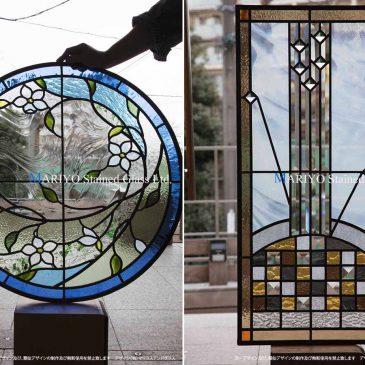 仙台 居久根の蔵のステンドグラス